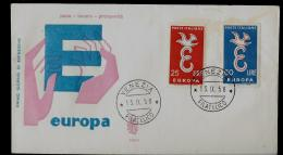 FDC -  EUROPA CEPT  - 1958 -  ITALY - 1958