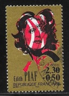 N° 2652  FRANCE  -  OBLITERE  -  CHANSON FRANCAISE EDITH PIAF   - 1990 - Francia