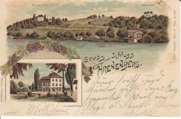 Arenenberg TG - Farbige Litho - TG Thurgovie