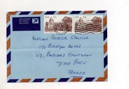 AFRIQUE DU SUD ENVELOPPE DU 7 MAI 1986 POUR PARIS - Afrique Du Sud (1961-...)