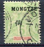 Mong-Tzeu                          N° 4   Oblitéré - Usati