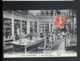 75, PARIS Ier, MAGASIN DE L'UNION, ALBERT BLANCHET, FAIENCES, PORCELAINES - Arrondissement: 01