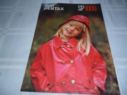 AA3-12 Pub Asahi Pentax SP1000 - 1975 - Fotografie En Filmapparatuur