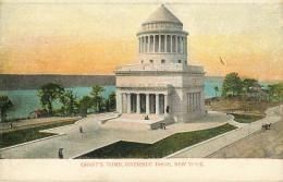 Etats-Unis - New York - Grant's Tomb Riverside Drive - état - New York City