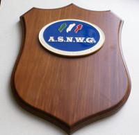 ITALY, CREST ARALDICO ASSOCIAZIONE SPORTIVA NAZIONALE WAR GAMES - Miniature