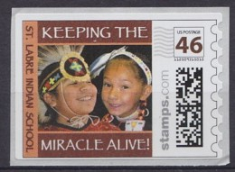 États-Unis United States   Stamps.com  St. Labre Indian School . . . . [DS47] - American Indians