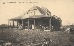 KNOCKE S/MER : Le Zoute - Chez La Fille Siska - Courrier De 1923 - Knokke