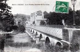 10 Bar-sur-Seine Les Ponts Entrée De La Ville 1913 - Bar-sur-Seine