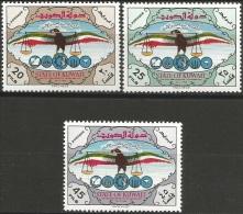 Kuwait, National Day 1966  DOVE BIRD EAGLE INDEPENDENCE - Koeweit