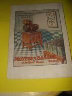 Publicité Moteurs BALLOT 1920 - Publicités