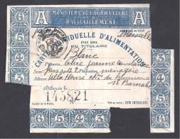 Carte Individuelle D´ Alimentation  ( Marseille 1918 ) - Non Classés