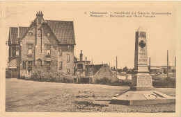 NIEUWPOORT / 1914-18 / MONUMENT DER FRANSE GESNEUVELDEN - Nieuwpoort