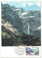 CM - Carte Maximum Card - 1988 - YT 2547 - Le Cirque De Gavarnie - 1980-89