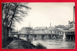 08. Sedan. Pont De Bois Sur La Meuse (1880). Cheminées D'usines  Textiles. Ca 1900 - Sedan