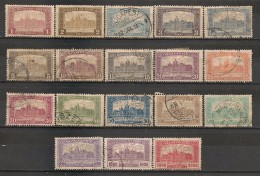 Timbres - Hongrie - 1919-1926 - Série De 18  Timbres - Neufs Et Oblitérés Avec Trace De Charnière -