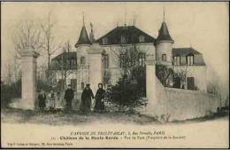 CHATEAU De La HAUTE-BARDE - Vue De Face - L´Avenir Du Prolétariat (8, Rue Pernelle) - Labor Unions