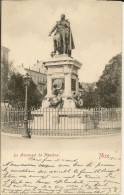 NICE  LE MONUMENT DE MASSENA  (ECRITE  1902  ) - Monumenten, Gebouwen