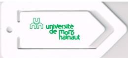 Université De Mons-Hainaut  - Pince à Papiers -2 Scans - Autres Collections