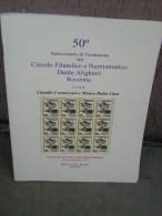 50° Del Circolo Filatelico E Numismatico Dante Alighieri Ravenna, 2007, 45 Pag. - Mostre Filateliche