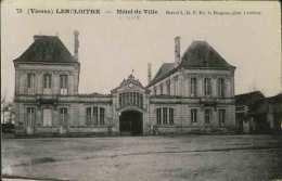 LENCLOITRE - Hôtel De Ville - Brevet L.D.F. - Lencloitre