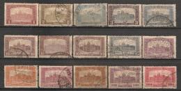 Timbres - Hongrie - 1919-1926 - Série De 15  Timbres -
