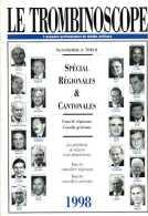 Le Trombinoscope Spécial Régionales Et Cantonales 1998 - Politique