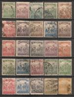 Timbres - Hongrie - 1920-1924 - Série De 25  Timbres -