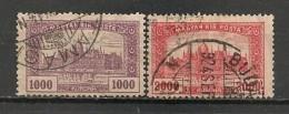 Timbres - Hongrie - 1919-1920 - 1000 Et 2000 K -