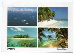 MALDIVES - MALE ATOLL (PHOTO MICHAEL FRIEDEL No 23/60) / THEMATIC STAMP-SHIP - Maldive