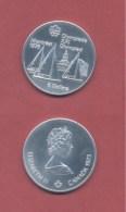 5 Dollar 1973 Elisabeth II - Segelschifffe - SILBERMÜNZE - Canada