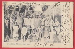 LIBERIA - Grand Cap Mount Year 1906 , Recto Verso - Liberia