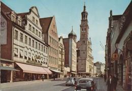 Karolinenstrasse  Und Perlach  - Auto Fiat - Opel - Augsburg