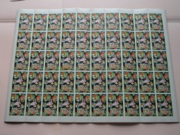 """Vel SLUITZEGELS """" FLORALIES LILLE 1952 """" ( Timbres De Fermeture 50 Pcs / Zie Foto´s Voor Detail ) ! - Commemorative Labels"""