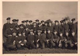 Photo Originale Bulgarie - Soldats En Uniformes - Combattants - Période Guerre 39-45 - Бълг&#107 - Guerre, Militaire