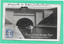 13 Sortie Du Grand Tunnel Du Rove - Tranchée De Gignac - Semi Moderne - France