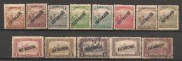 Timbres - Hongrie - 1919 - KOSTARSASAG - Série De 13  Timbres -