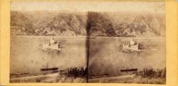 Rhein, Caub, Pfalz, Bords Du Rhin, No.276 - Stereoscopio