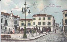 Ostiglia (Mantova) 1906 Piazza Cornelio Nepote- Animata - Italie