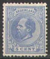 Nederland NVPH Nr 19 Ongebruikt/MH Koning Willem III 1872 - Ongebruikt