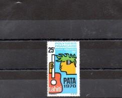 POLYNESIE 1969 POSTE AERIENNE N° 28 OBLITERE - Gebraucht