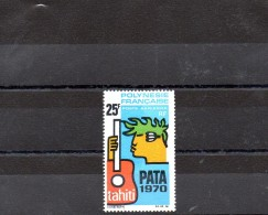 POLYNESIE 1969 POSTE AERIENNE N° 28 OBLITERE - Oblitérés