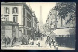 Cpa Du 75  Paris 7è  -- Rue Saint Dominique  -- Le Recrutement    LIOB58 - Distrito: 07