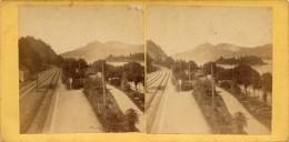 Siebengebirge, Rolandseck, Bahnhof - Stereoscopio