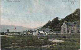 THE VILLAGE - LAMLASH - ISLE OF ARRAN - AYRSHIRE - WITH GOOD LAMLASH POSTMARK - Ayrshire