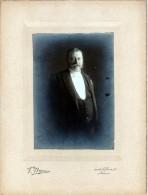 Joseph Saintraint Bourgmestre De Namur Photo Sur Carton F. Beguin Rue De La Croix 240x180 Mm - Namur