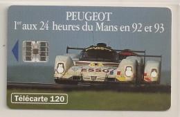 Peugeot  905 - 24 Heures Du Mans En 92 Et 93 - 120 U - - France