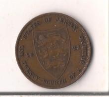 JERSEY 1/24 SHILLING 1923 - Jersey