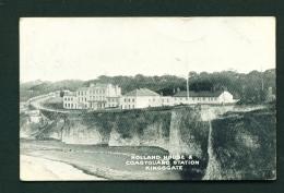 ENGLAND  -  Kingsgate  Holland House And Coastguard Station  Used Vintage Postcard As Scans - Angleterre