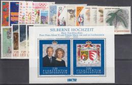 Liechtenstein Año 1992 Nuevo Y Completo - Liechtenstein