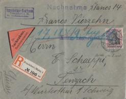 DR NN-R-Brief EF Minr.90I Frankfurt 12.8.11 Gel. In Schweiz - Briefe U. Dokumente